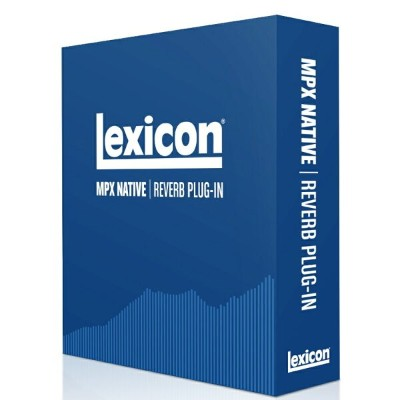 Lexicon/MPX Native Reverb Plug-in【オンライン納品】