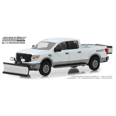 1/64 2018 Nissan Titan XD Pro-4X with Snow Plow and Salt Spreader[グリーンライト]《04月仮予約》