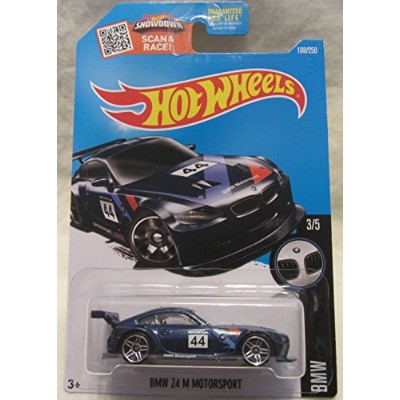 ホットウィール マテル ミニカー ホットウイール BMW Z4 M Motorsport Hot Wheels 2016 BMW Series Blue 1:64 Scale Collectible...