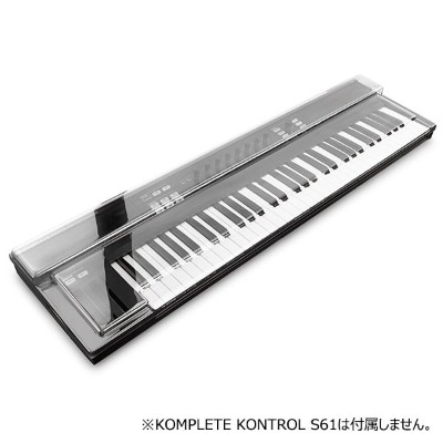 DECKSAVER DS-PC-KONTROLS61【KOMPLETE KONTROL S61専用保護カバー】