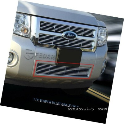 USグリル For 08-12 Ford Escape Billet Grille Grill Bumper Insert Fedar 08-12 Ford Escapeビレットグリルグリルバンパーイ...