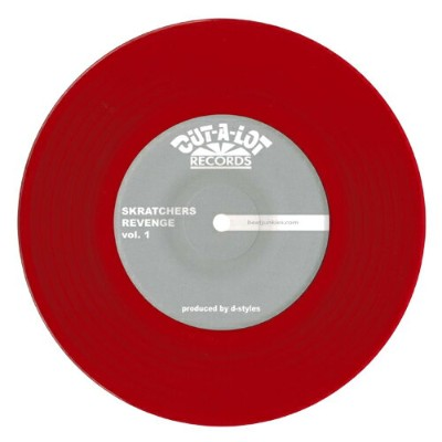 "D-Styles x DJ ruthless - Skratchers Revenge Vol.1 (7"" レコード バトルブレイクス)"