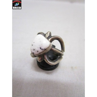INDIAN JEWELRY SAND CAST RING【中古】[▼]
