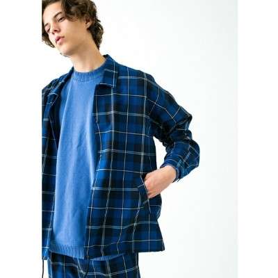 [Rakuten BRAND AVENUE]【SALE/50%OFF】 monkey time  NAVY CHECK COACH SHIRT/コーチシャツ BEAUTY & YOUTH...