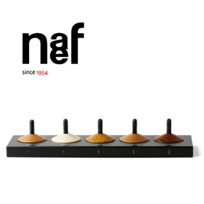 Naef ネフ社 木のコマ5個セット Holzkreisel〜スイス・Naef(ネフ社)の5種類の木でできた美しい木目のこま5個セットです。