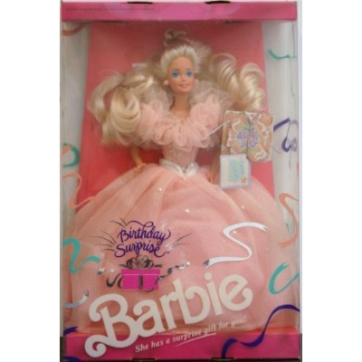 1991 Birthday Surprise Barbie バービー Blonde Caucasion 人形 ドール