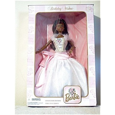 Birthday Wishes Barbie バービー African American 人形 ドール
