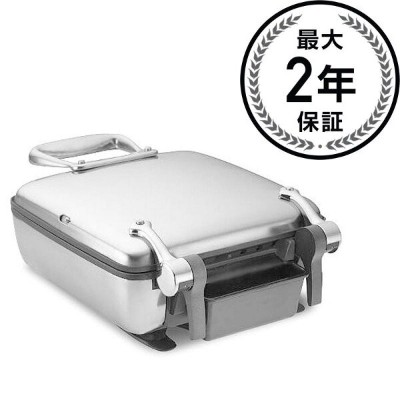オールクラッド ワッフルメーカー 4枚焼 All-Clad Stainless Steel Belgian Waffle Maker with 7 Browning Settings, 4...