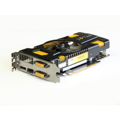 ZOTAC GeForce GTX550Ti 1GB DVI x2/HDMI/DisplayPort PCI Express 2.0 x16 ZT-50401【中古】