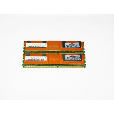 398705-051 HP 計1GB (512MBx2) DDR2-667MHz PC2-5300 ECC hynix HYMP564F72CP8N3-Y5【中古】【送料無料セール中! ...