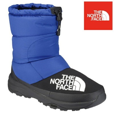 18FW THE NORTH FACE 防寒ブーツ Nuptse Down Bootie NF51877: bk 正規品/ノースフェイス/ヌプシ/メンズ/out/靴