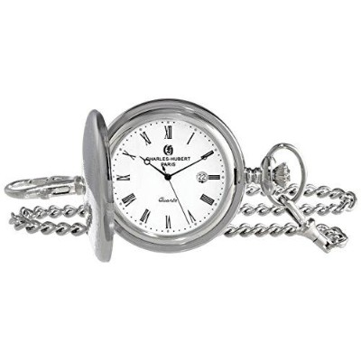 チャールズヒューバート Charles-Hubert, Paris 3915 Premium Collection Analog Display Quartz Pocket Watch...