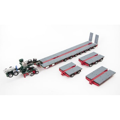 Membrey - Drake 2x8 Dolly and 7x8 Steerable Low Loader Trailer PLUS Accessory Pack: 2x8 Deck, 3x8...