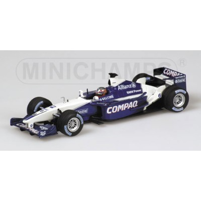 WILLIAMS | F1 BMW FW23 N 6 1st WINNER ITALY GP 2001 J.P.MONTOYA | BLUE WHITE /Minichampsミニチャンプス 1...