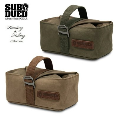 【SUBDUED】MULTI STORAGE BUCKET square カラー:deel forest / walnut 【サブデュード】【スケートボード】【小物】