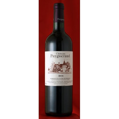 Chateau Puygueraudシャトー ピュイゲロー [2004] 750ml 蔵出しChateau PuygueraudCotes de France