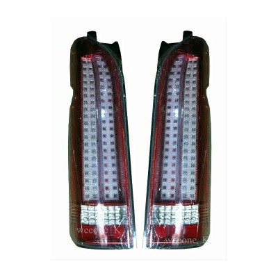 トヨタ ハイエース テールライト LED L.E.D TAIL LIGHT TAILLIGHT LAMP V.2 FOR TOYOTA HIACE COMMUTER 2005 - 2011...