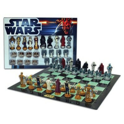 United Label(ユナイテッド・レーベル) Star Wars Chess Set / Chess Game Board with Star Wars Figurines Chess...