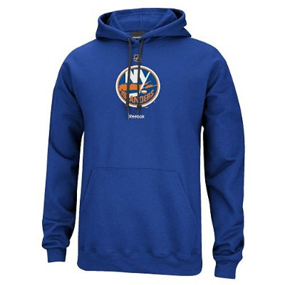 NHL プライマリーロゴ フーディー アイランダース(ブルー) Reebok New York Islanders Primary Logo Hoodie - Royal Blue