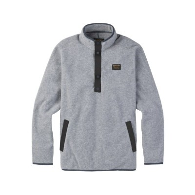 BURTON MB HEARTH FLEECE PULLOVER 2018SSGRAY HEATHER