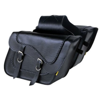 サドルバッグWILLIE&MAX(ウイリー&マックス)BRAIDED FLEETSIDE SLANT SADDLEBAG