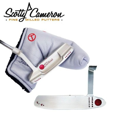SCOTTY CAMERON NEWPORT2 TOUR GSS VERTICAL STAMP T.W. & TIGER WOODS BACK UP PUTTER スコッティキャメロンニューポート2ツ...