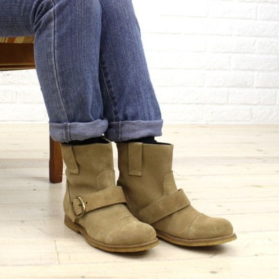 【40%OFF】【プントピグロ PUNTO PIGRO】SHORT BOOTS WITH BUCKLE・NPP1051【レディース】【RCP】【シューズ】【50】【last_1】【A-3】