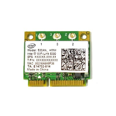 インテル Intel Wireless WiFi Link 5300 802.11a/b/g/n 450Mbps PCIe Mini half 無線LANカード 533ANHMW