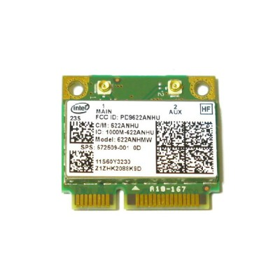 Lenovo/HP純正 60Y3231 572509-001 Intel Centrino Advanced-N 6200 802.11a/b/g/n 300Mbps PCIe Mini half...