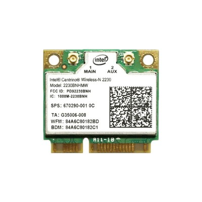 HP純正 670290-001 Intel Centrino Wireless-N 2230 802.11b/g/n + Bluetooth 4.0 無線LANカード 2230BNHMW for HP