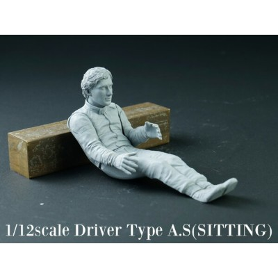 DIVE NINE Figure Series 1/12 Driver Type A.S [SITTING]