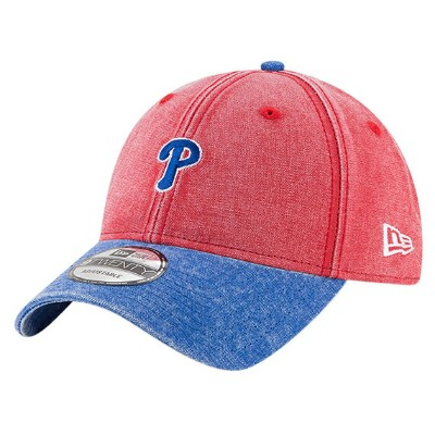 ニューエラ フィラデルフィア フィリーズ 【MLB 9TWENTY GW RUGGED CANVAS STRAPBACK/RED-RYL BLUE】 NEW ERA PHILADELPHIA...