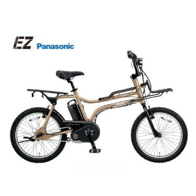 "EZ ""イーゼット"" パナソニック 電動アシスト自転車 電動自転車 2018モデル BE-ELZ032A 【送料無料】"