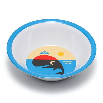 OMM DESIGN MELAMINE BOWL WHALE (OMM デザイン メラミン ボウル クジラ) 【AS】
