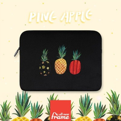 All New Frame Pineapple - black iPadケース ipad ケース ipad ポーチ iPad Air2 ケース iPad Air ケース iPad ケース アイパッド...