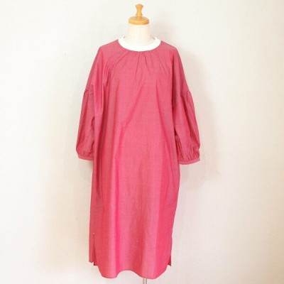 【sosotto A la maison】 Ladies' room one piece ルームワンピース / レッド