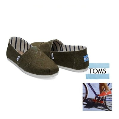 TOMS【 トムズ 】Mens 【 Classics 】エスパドリューcolor【 Military Olive Heritage Canvas 】カーキグリーン