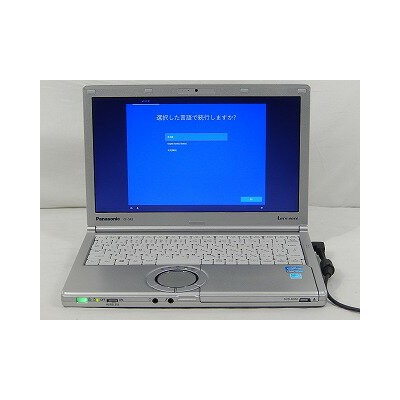 【中古】Panasonic Let'snote CF-SX2/Corei5 3340M 2.7GHz/4GB/HDD250GB/DVD/CD/12.1インチ/Win10Home【TG】【E】