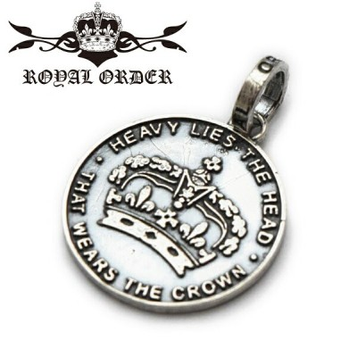 【ROYAL ORDER ロイヤルオーダー】ペンダント/SP330:HOUSE CROWN !REAL DEAL