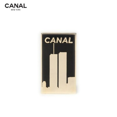 """2019 NEW YEAR SALE ★ 30% - 80%OFF CANAL NEW YORK (キャナル ニューヨーク) CANAL LIMITED """"WTC"""" PIN (BLACK /..."""