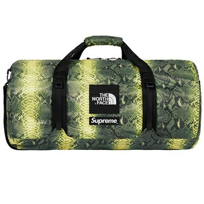 Supreme (シュプリーム) × THE NORTH FACE (ノースフェイス) SNAKE FLYWEIGHT DUFFLE 【NM81835】
