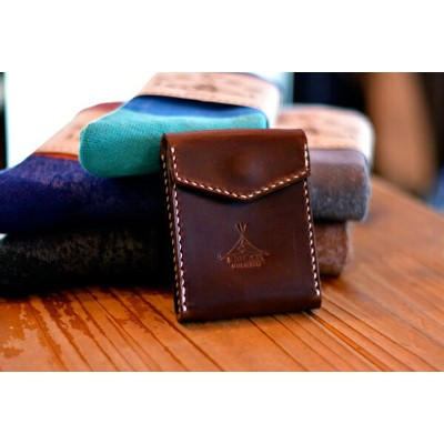 BLUE.art(ブルードットアート)Card case カードケース [Horween chromexcel leather] ba-045