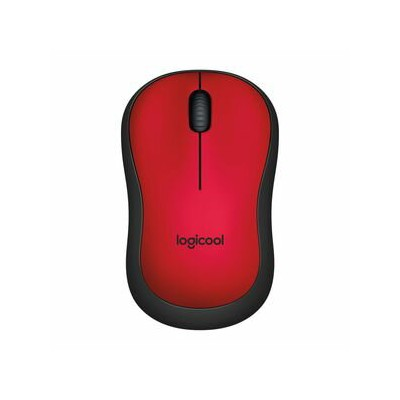 M221RD ロジクール 2.4GHzワイヤレス オプティカル静音マウス クワイエットプラス レッド m221 QUIET PLUS Wireless Mouse