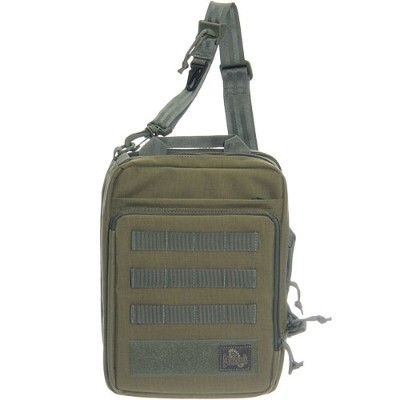 マグフォース MAGFORCE Laptop Sling Bag KHAKI FOLIAGE MF-6606