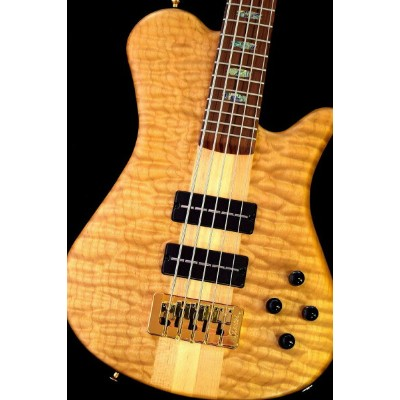 Spector USA NS5XL SC 5A Quilted Maple,Water Cured NY Water Tank Redwood/Pau Ferro -Natural Mat-【NEW...