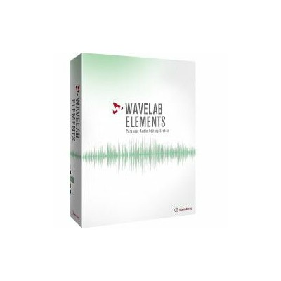 Steinberg WaveLab Elements(対応OS:WIN&MAC)(WAVELABEL/R) 目安在庫=△