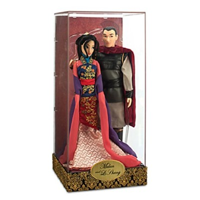 ムーラン 花木蘭 ディズニープリンセス Disney -Mulan and Li Shang Doll Set - Disney Fairytale Designer Collection -...