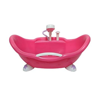 ジェーシートイズ 赤ちゃん おままごと ベビー人形 81413 JC Toys Adorable Lil' Cutesies Bathtub with Shower Fits Most Dolls...