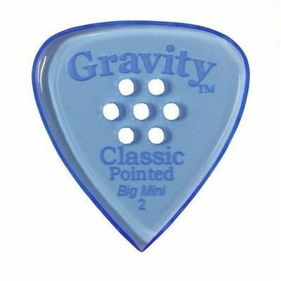 【メール便・送料無料・代引不可】【2枚セット】GRAVITY GUITAR PICKS GCPB2PM Classic Pointed -Big Mini- [2.0mm with Multi...