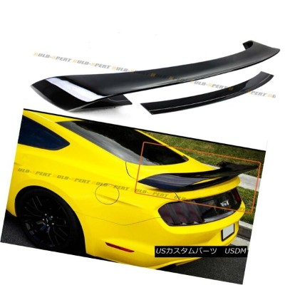 エアロパーツ For 2015-17 S550 Ford Mustang GT350 Style Painted Black Rear Trunk Spoiler Wing 2015-17...